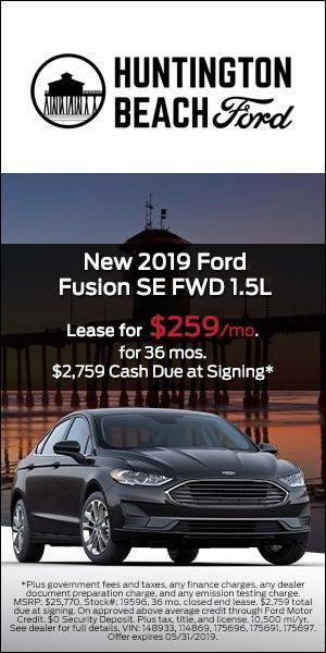 2019 Ford Fusion Se Fwd 1 5l